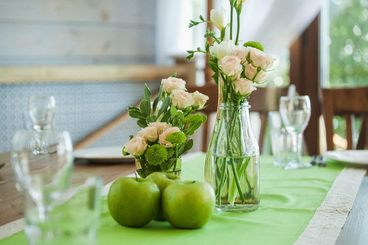 Свадьба в стиле зеленого яблока фото